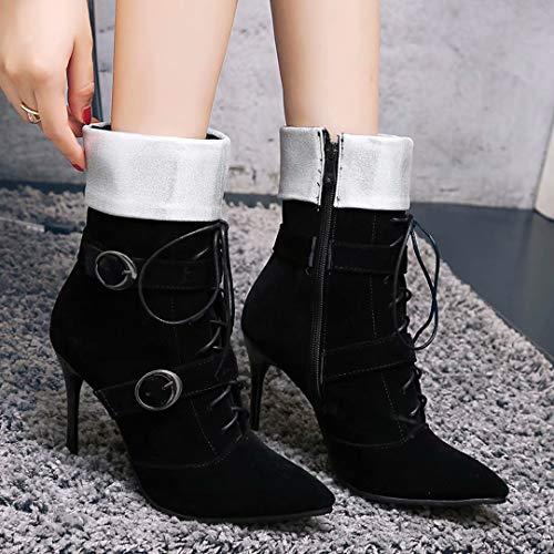 AIYOUMEI Women's Classic AIYOUMEI Boot Classic Women's Black Boot PfPqErSawx