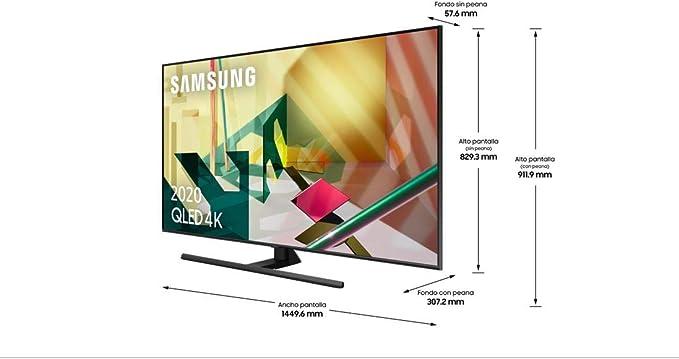 Samsung 65Q70T QLED 4K 2020 - Smart TV de 65