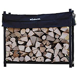 Woodhaven 60WRC 5 Foot Woodhaven Firewood Storage Rack With Standard Cover