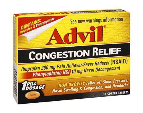Advil Soulagement de la congestion