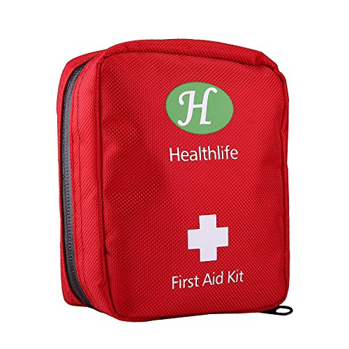 HealthLife Mini First Aid Kit,25 Pieces Lightweight Medical Emergency Bag Small Portable Survival tools Pack for Emergencies at Home Car Camping Workplace Traveling Adventures Sports Hiking by HealthLife