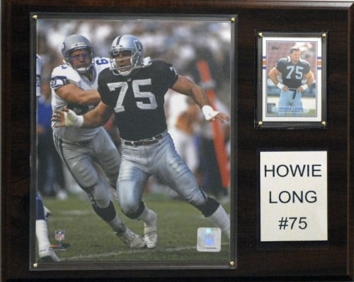 - NFL Oakland Raiders Howie Long Player Plaque