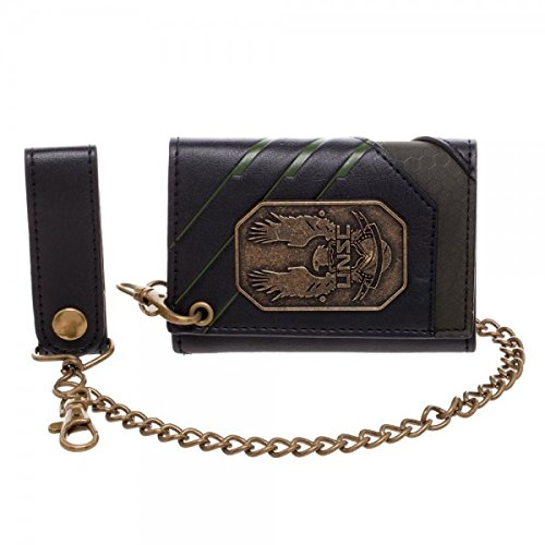 Badge Chain Wallet (Halo 5 UNSC Badge Men's Chain Wallet)