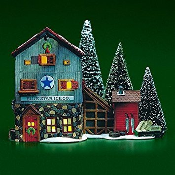 Department 56 Blue Star Ice Co ()