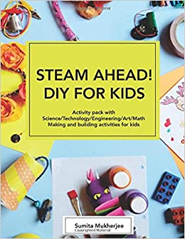 Amazon Com Steam Ahead Diy For Kids Activity Pack With