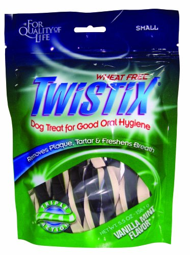 Twistix Dental Chews for Pets with Vanilla/Mint Flavor, Large, My Pet Supplies