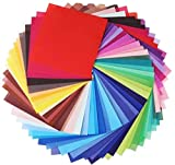 #8: Heat Transfer Vinyl Set,12 sheets - Assorted Colors HTV Vinyl Sheets to Iron On Vinyl for Cricut & Silhouette Cameo & Heat Press Machine EasyWeed for TShirts, Hats, Bags & all Fabrics – 10 x 12 Inches
