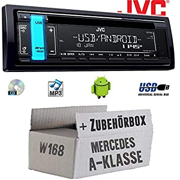 Einbauset f/ür Peugeot 206 JUST SOUND best choice for caraudio Bluetooth MP3 Autoradio Radio Pioneer DEH-S3000BT CD USB Android Einbauzubeh/ör