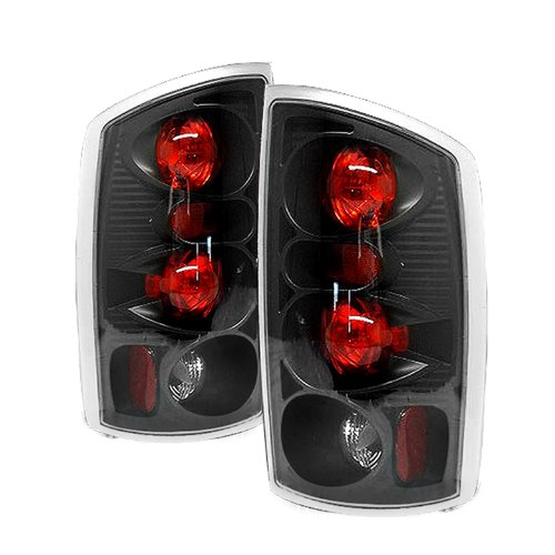 - Spyder Dodge Ram 1500 02-06/ Ram 2500 02-05 /Ram 3500 02-05 Altezza Tail Lights - Black