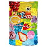 Trojan Instant Fruit Latte Bubble Tea Milk Powder, Banana, 2.2-Pound Bags (Pack of 2)
