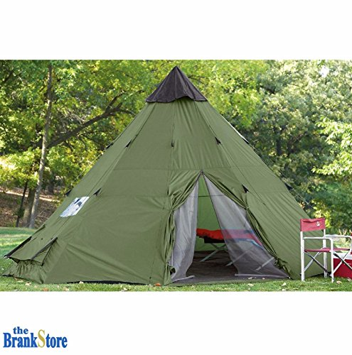 Large Teepee Camping Tent 6-Person