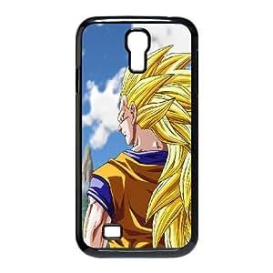 Samsung Galaxy S4 9500 Cell Phone Case Black Dragon Ball Z Super Saiyan U1Y1MD