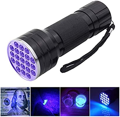 68 LED UV UltraViolet Blacklight Flashlight Lamp Torch Inspection Light Handheld