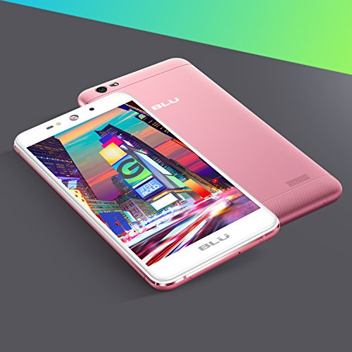 BLU Grand XL - Unlocked Smartphone -5.5'' Display, 8GB +1GB RAM -Rose Gold by BLU (Image #5)