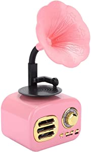 Yencoly Creative Speaker, Music Player, Desktop Speaker, for Computer, for Laptop,(Princess Pink)