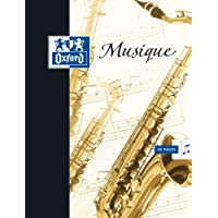 Oxford Cahier musique/chant 17x22 24pages+24pages