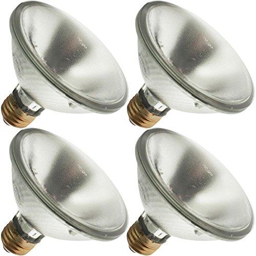 OSRAM SYLVANIA 50PAR30/CAP/IR/NSP9 130V, 50 Watt, PAR30, Medium Screw (E26) Base Light Bulb (4 Bulbs) (E26 Screw 130v Par30 Medium)