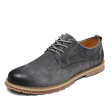 fgmjgk Männer - Mode Casual Lederschuhe Casual Schuhen Retro - Britische  Mens Fashion Leder Schuhe Putzen 1d6853c005