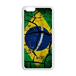 GKCB Flag of Brazil Phone Case for Iphone 6 Plus