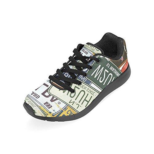 Zenzzle Zapatillas de running de Lona para mujer Negro negro Color 3