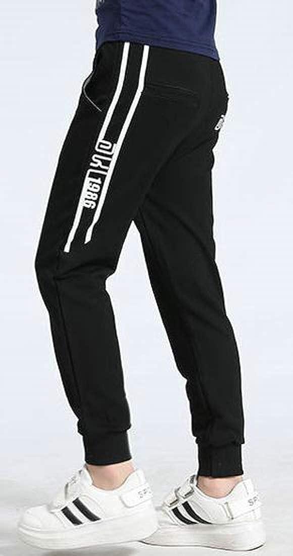 Lutratocro Big Boys Stylish Jogger Elastic Waist Basic Sweatpants Cotton Pants
