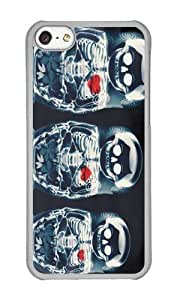Apple Iphone 5C Case,WENJORS Adorable Nesting Doll X Ray Hard Case Protective Shell Cell Phone Cover For Apple Iphone 5C - PC Transparent