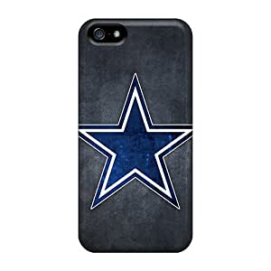 Pando Case Scratch-free Phone Case For Iphone 5/5s- Retail Packaging - Dallas Cowboys Logo