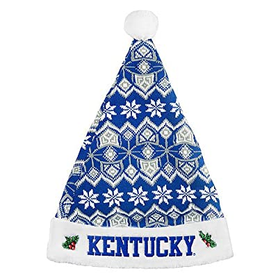 Kentucky Wildcats Knit Santa Hat - 2015 - Licensed NHL Hockey Merchandise