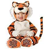 InCharacter Costumes Baby's Tiger Deluxe Costume, Orange/Black/White, Medium