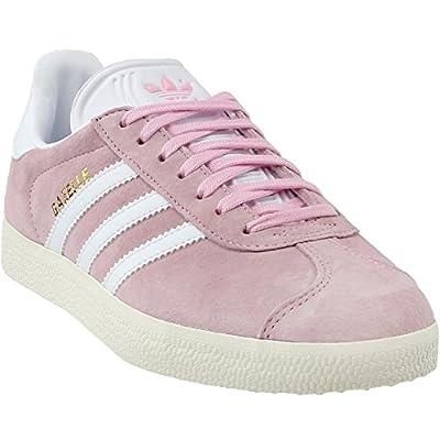 adidas Gazelle W Ladies in Pink/White, 5
