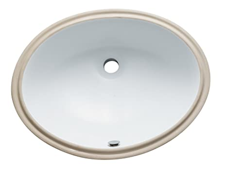 Kingston Brass LBO22178 Fauceture Oval Undermount 21-7/10-Inch-by-