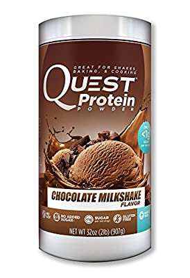 Quest Nutrition Protein Powder Vanilla Milkshake, 2 Pound