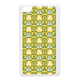 Custom Check Pattern Back Cover Case for ipod Touch 4JNIPOD4-099