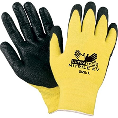 MCR Safety Ultra Tech Kevlar Gloves, X-Large (48 Pair) by MCR Safety (Image #1)