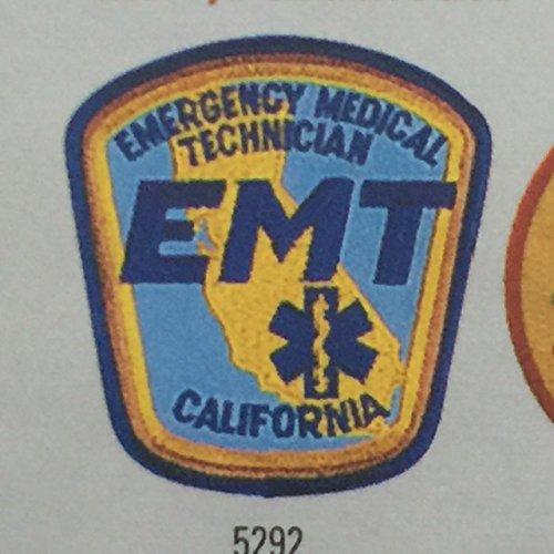 (EMERGENCY MEDICAL TECHNICIAN CALIFORNIA - EMT, E.M.T. LOS ANGELES COUNTY PARAMEDIC - LA County EMP, 3-3/4 X 4