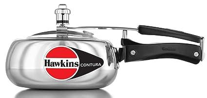 Hawkins Contura Aluminum Pressure Cooker, 2 Litres