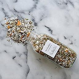 Sea Goddess - Nourishing Organic Bath Salts - Aromatherapy Bath with Essential Oils - Bath Tea - Seaweed Bath - Detoxifying Bath