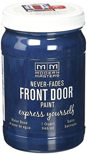 Modern Masters 275274 Satin Front Door Paint, 1 quart, Serene by Modern Masters