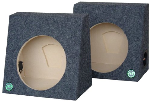 """Audio Enhancers RS38C10 10"""" Carpeted Subwoofer Boxes for ..."""