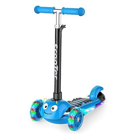 Patinetes Scooter para niños 3-6-14 años Bebé de Tres Ruedas ...