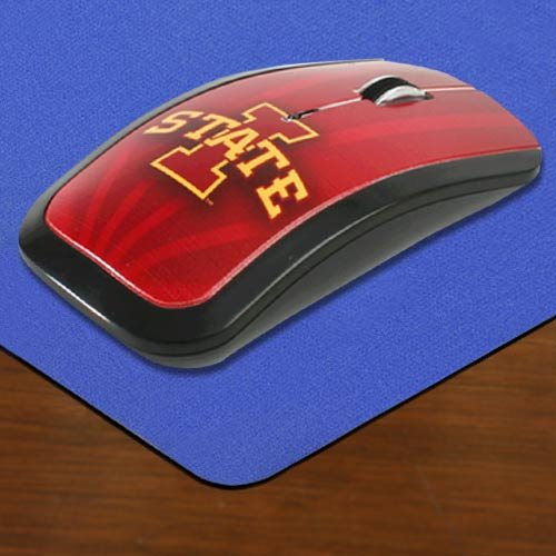 NCAA Iowa State Cyclones Team Color Wireless Mouse - Cardinal by Keyscaper