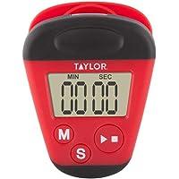 Taylor 82050 Digital Clip Timer, Red/Black