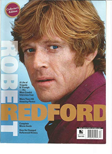 - CLOSER COLLECTOR'S EDITION MAGAZINE FALL 2017, ROBERT REDFORD COVER.