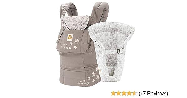 Ergobaby 3 Position Original Bundle Of Joy With Easy Snug Infant Insert Galaxy Grey