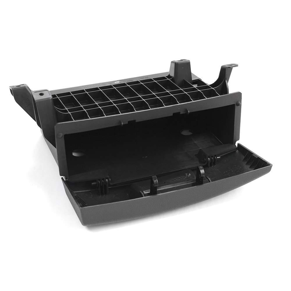 schwarz Skoda 3T0881577C9B9 Sitzschublade Nachr/üstsatz Ablagekasten links vorn Fahrersitz