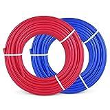 Happybuy PEX Pipe 2 Rolls of 1/2 Inch X 300 Feet Flexible Water Pipe Tubing Potable Water Pex Tubing