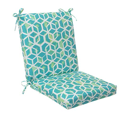 Glenna Jean Indoor/Outdoor Square Chair Cushion, Inbox - Teal