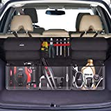 Oasser Back Seat Organizer Car Trunk Organizer Storage Bag for SUV/MPV/CAN 600D Oxford Cloth with 6 Pockets E6