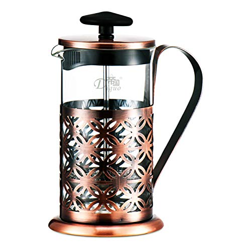 French Press Coffee Maker 2 In 1 Travel Coffee & Tea Pot (20 oz / 600 ml)