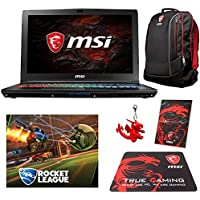 MSI GP62X Leopard Pro-1045 (i7-7700HQ, 32GB RAM, 1TB SATA SSD + 1TB HDD, NVIDIA GTX 1050Ti 4GB, 15.6 Full HD, Windows 10) Gaming Notebook